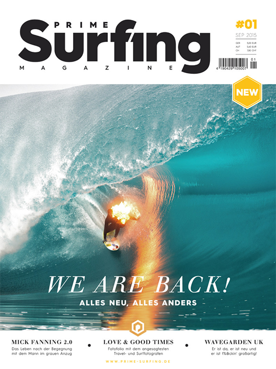 PRIME Surfing #1 - Cover